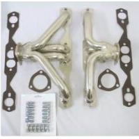 Quality 1955-57 Chevy Bel Air RAW UNCOATED Shorty Headers SBC Small Block Chevy for sale