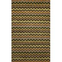 Quality SEVILLE ZIGZAG STRIPE GREEN for sale