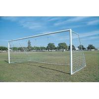 Quality Soccer Goals SEMI PERMANENT ROUND NO CLIPS for sale