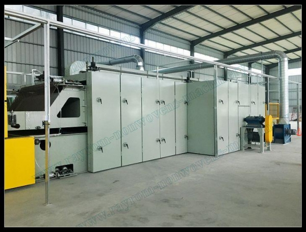 Buy Drying & Heat Setting Machine for Nonwoven Fabric Prodution,heat Setting,drying Stenter at wholesale prices