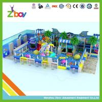Quality Children Indoor Playground Equipment for Commercial Use Under The Sea Theme 4-12 Years for sale