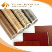 Quality WPC Door Wood Pattern Anti Scratch Hot Stamping Foil heat Press Transfers Film for sale