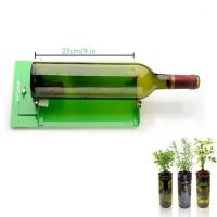 Quality AGPtek Long Glass Bottle Cutter Machine Cutting Tool For Wine Bottles, Suit for LONG Bottle (Green) for sale