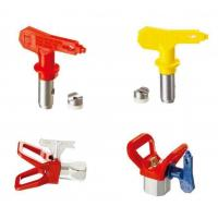 Buy cheap Blue / Red / Yellow / Black Spray Tips Airless Sprayer Accessories With OEM Service from wholesalers