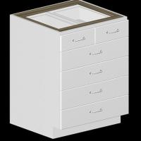Quality 5 Drawer Kitchen Base Cabinet for sale