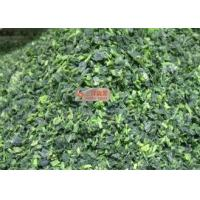 Quality No Additive Healthy Freeze Dried Spinach Cuts For Instant Meal / Soup for sale