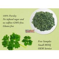 Quality Freeze Dried Dehydrated Vegetable Flakes Parsley For Healthy Food Ingredients for sale