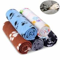 Quality Comsmart Warm Paw Print Blanket/Bed Cover for Dogs and Cats, 5 Pack of 24x28 Inches for sale