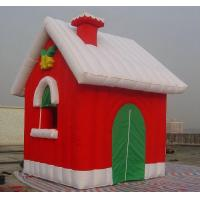 Giant Inflatable Snowman Christmas Snow Globe Igloo for Festival and Decoration