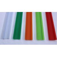 Buy cheap Plastic PVC Self-adhesive Signage Data Strip for Supermarket and Store Shelves with Holders from wholesalers