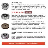 Buy cheap Forklift Mast Roller from wholesalers