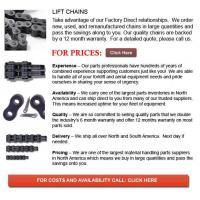 Buy cheap Chains for Forklift from wholesalers