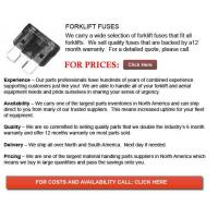 Buy cheap Forklift Fuses from wholesalers