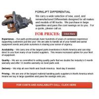 Buy cheap Differential for Forklifts from wholesalers