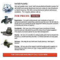 Buy cheap Water Pumps for Forklift from wholesalers