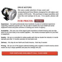 Buy cheap Drive Motor for Forklift from wholesalers