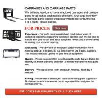 Buy cheap Carriage from wholesalers