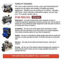 Buy cheap Engines for Forklift from wholesalers