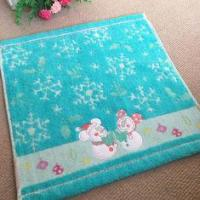 Quality Cute Frosty Snowman Hand Towels Collection With High Grade Cotton Made for sale