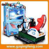 indoor amusement center coin pusher arcade racing simulator game machine