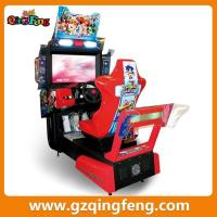 wholesale coin push racing arcade games electronic machine for game center