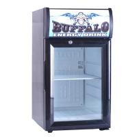 Buy cheap Small Display Refrigerator with Desk Top Glass Door from wholesalers