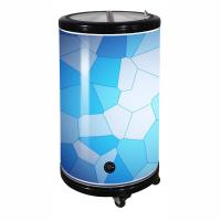 Quality 75L Round Barrel Cooler Party Cooler Promotional Cooler with Wheels for sale