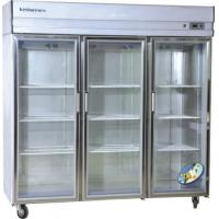 Quality Commercial restaurant large kitchen upright refrigerator showcase for sale
