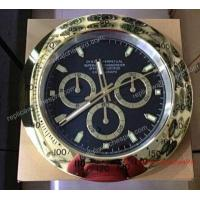 Buy cheap Replica Rolex Wall Clock - All Gold Daytona Black Surface - 38cm from wholesalers
