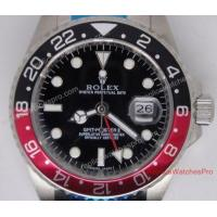 Buy cheap Replica Rolex GMT-Master Watch Coca Cola Red and black Bezel from wholesalers