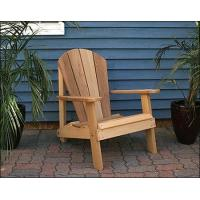 Quality Red Cedar Southern Wide Slat Adirondack Chair for sale