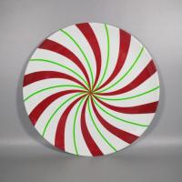 Quality 14inch Large Round Melamine Candy Platter for sale