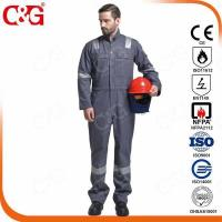 Quality Nomex IIIA Flame Resistant Clothing 100% FR Cotton safety coverall for sale