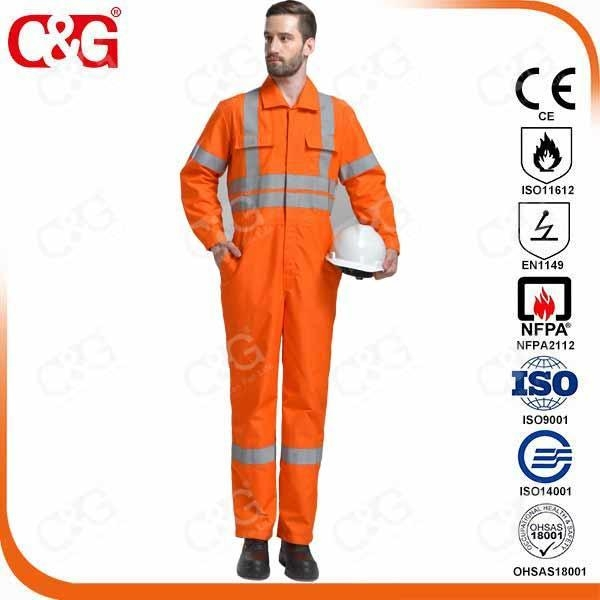 Buy Nomex IIIA Flame Resistant Clothing Nomex IIIA Safety Work Garment EN11612 Standard at wholesale prices