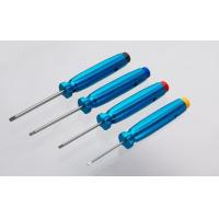 Quality HARDENED HEX DRIVER SET (1.5/2.0/2.5/3.0mm) - BLUE/CHAMPAGNE for sale
