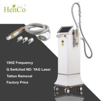 Quality Shock Wave 15Hz ND YAG laser 3 tips q-switch Tattoo Removal Diode Laser Beauty Machine for sale