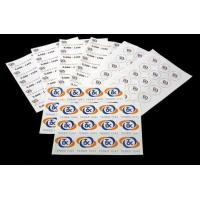Quality 210mm x 74mm A4 Laser Sheet Label for sale
