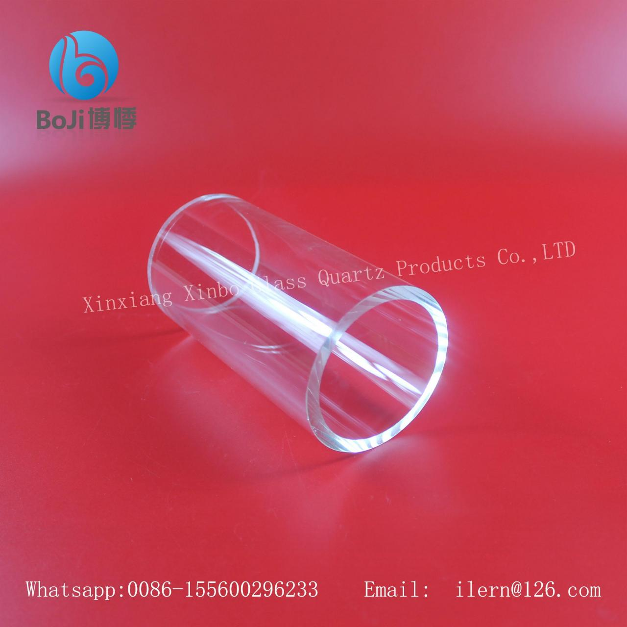 China Fused silica refractive index quartz glass supplier on sale