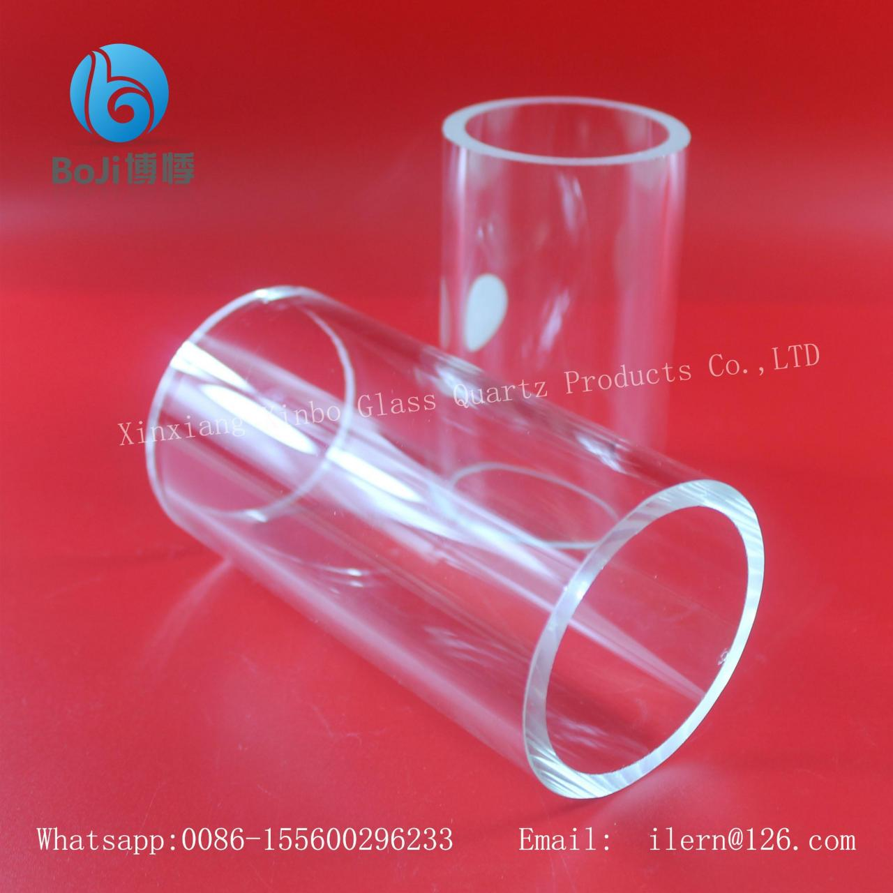 China Corrosion proof quartz glass refractive index XinBo factory on sale