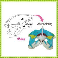 DIY Painting Toy shark mask