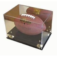 Quality Acrylic Boxes & Cases Football Display Case Holder for sale