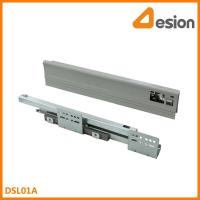 Quality double wall drawer slides DSL01A Under mounting concealed slides for sale