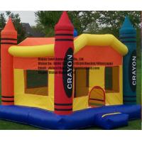 HL-SB0005-2 4x4m Pencil Inflatable Small Castle