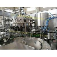 Quality SUS304 Material Carbonated Drink Filling Machine 6.57KW For Sparkling Water / Sprite for sale