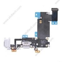Buy cheap iphone 6s plus headphone jack with lightning connector flex cable white from wholesalers