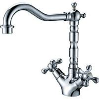 Quality Classic Cross Handles Kitchen Faucet for sale