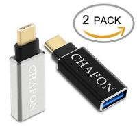 Quality Chafon Type-C to USB 3.0 Adapter-Silver Black for sale