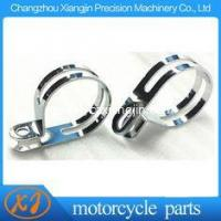 """Quality speedway motorcycle parts Steel Chromed 50mm Bend Clamp Silver Chromed Speedway """" P """" Clamp for sale"""