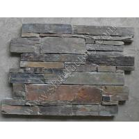 Quality rustic slate cement panels cultured stone 03 for sale