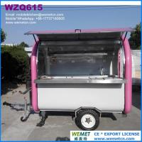 Quality WZQ615 Hot dog stand, Mobile Kebab Van for sale